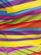 Bright multi-coloured cloth Stock Photos