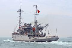 Turkish Navy TCG ISIN escape class rescue ship Kuvituskuvat
