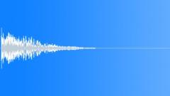 Blockbuster Deep Drum Pipe Strike Hit 4 Sound Effect