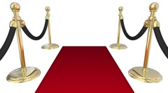 Please Join Us Red Carpet Invitation Words Animation Stock Footage