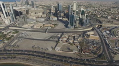 view of the city Kuwait - stock footage