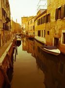Channels at Venezia Italia Stock Photos
