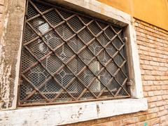 Bars on window Stock Photos