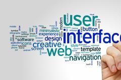 User interface word cloud Kuvituskuvat