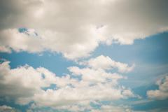 cloud on blue sky - stock photo