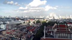 Bangkok city landscape, timelapse Stock Footage