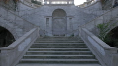 The Giants Stairway of Trieste Stock Footage
