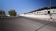 Sharm el sheikh empty street 1 Stock Footage