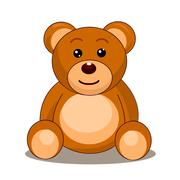 Illustration of Teddy bear Stock Illustration
