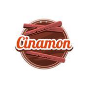 Cinamon Spice. Vector Illustration Stock Illustration