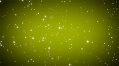 Swirly Particle Motion Background Loop Green Stock Footage