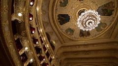 Odessa Opera and Ballet Theater, interior Stock Footage