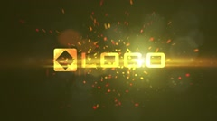 Fire Logo Reveal - Dynamic Fire Particle Sparks Burining Light Logo Sting Intro Kuvapankki erikoistehosteet