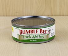Can of Bumble Bee Tuna - stock photo