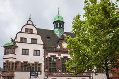 Old Town Hall (Altes Rathaus) in Freiburg im Breisgau, Germany - stock photo