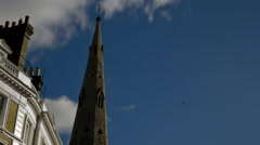 4k Time Lapse Gloucester church Stock Footage