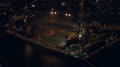 AT&T Park, San Francisco Giants ballpark Stock Footage