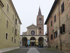 Cathedral Assunta in Acqui Terme Stock Photos