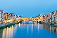 Florence. Ponte Vecchio - stock photo
