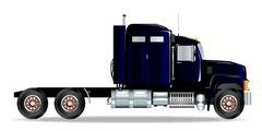 Truck Tractor Unit - stock illustration