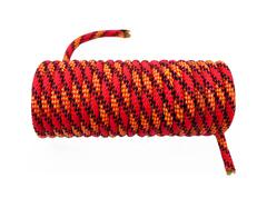 Red household rope Stock Photos