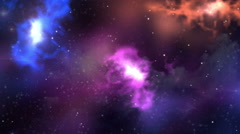 Abstract Nebula Space Galaxy Background 4K UHD Stock Footage