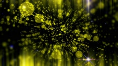 Colorful Soft Bokeh Orb Shape VJ Loops Motion Background HD Stock Footage