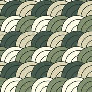 Stock Illustration of Tileable concentric overlapping circles pattern