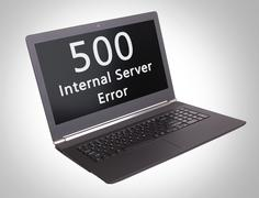 HTTP Status code - 500, Internal Server Error - stock photo