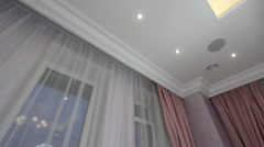 Luxury Apartment Interior Children's room. Stock Footage