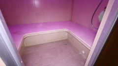 Luxury Apartment Interior Jacuzzi, Hamam, SPA. - stock footage