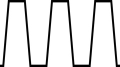 Alpha Matte Geometric Transition - Gears 12 66141 - stock footage