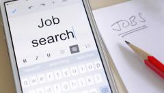 Job search. - stock footage