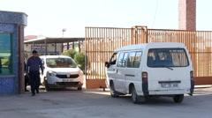 kilis Turkey /Syria border - stock footage