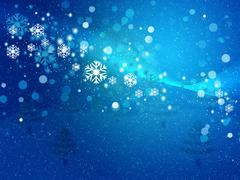 Abstract snowy background - stock illustration