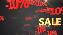 -10% Sale Loop Stock Footage