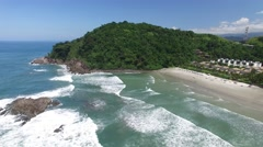Juquehy and Barra do Una, Brazil Stock Footage