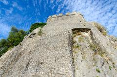 Sea Fortress (Forte Mare), Herceg Novi, Montenegro Stock Photos