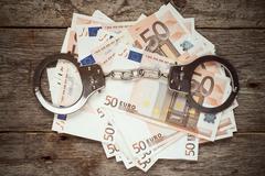 Corruption or bribery concept Stock Photos
