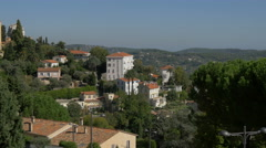 Grasse and its surroundings Stock Footage