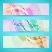 Abstract banner background Stock Illustration