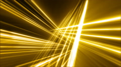 Rotating Abstract Gold Grid Loop - stock footage