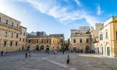Stock Photo of Piazza del Duomo square in Lecce