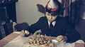 Austria 1960s: child eating a cake at home Footage