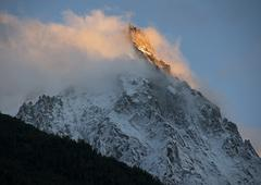 Aiguille du Midi, France Stock Photos