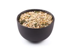 Healthy seeds mix - stock photo