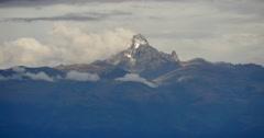 Mount Kenya Stock Footage