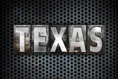 Texas Concept Metal Letterpress Type Piirros