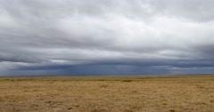Masai Mara Cloud Time Lapse - stock footage