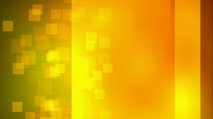 Animated nice visual slow moving orange yellow many stars particles Stock Footage